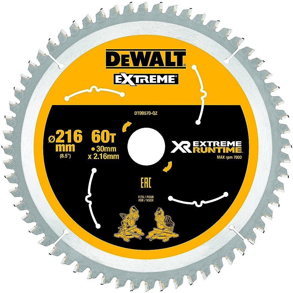 前提条件誠実さプロペラDeWALT 丸のこぎり替刃 刃直径216mm DT99570-QZ