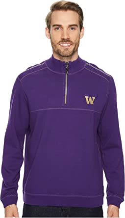 Washington Huskies Collegiate Campus Flip Sweater