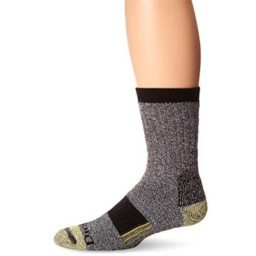 Dickies Mens Kevlar Reinforced Steel Toe Crew Socks