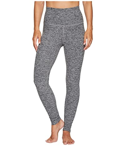 Beyond Yoga Spacedye High Waisted Long Leggings (Black/White) Women