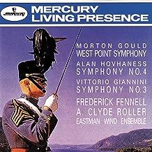 Gould: West Point Symphony / Hovhaness: Symphony No. 4 / Giannini: Symphony No. 3