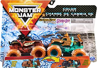 Monster Jam Authentic 2 Pack, 1:64 Scale Die-Cast Monster Trucks (Styles Vary)