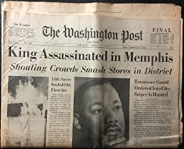 The Washington Post (newspaper), Friday, April 5, 1968 (Final Edition) (Martin Luther King, Jr., Assassination),