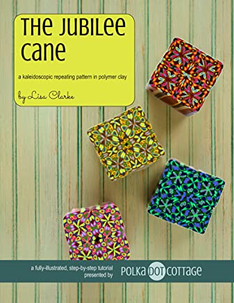 The Jubilee Cane:A Kaleidoscopic Repeating Pattern in Polymer Clay