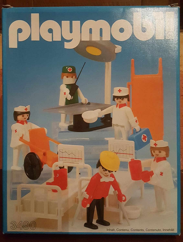 Playmobil 3490 Sala Operatoria con mini libretto