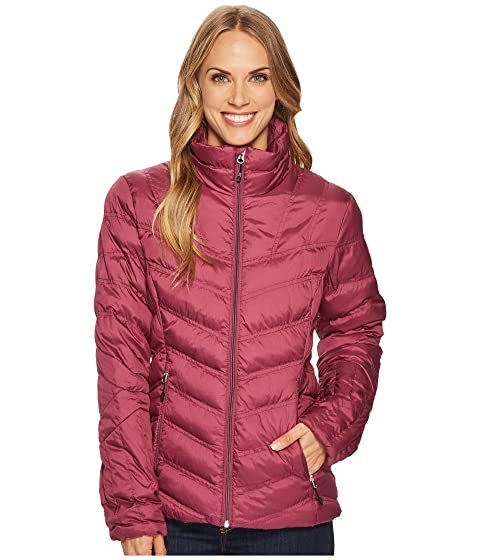 SPYDER Geared Hoodie Synthetic Down Jacket, Amaranth