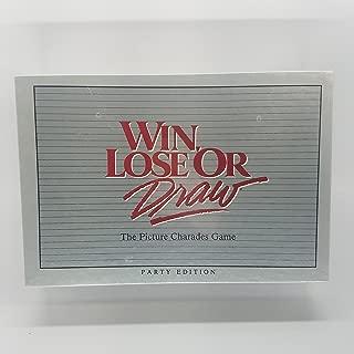 Milton Bradley Win, Lose or Draw - Party Edition (1988)