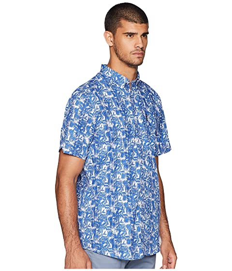 Ben Plaid Sherman Short Tropic Sleeve Shirt BAaZwA