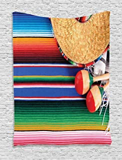 Best mexican rug wall hanging Reviews
