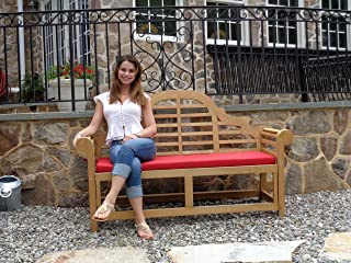 Windsor's Lutyens Genuine Grade A Teak,from Indonesian Plantations, 3 Seater Bench 65