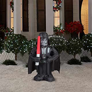 Gemmy Star Wars Darth Vader Lighted Airblown Inflatable Christmas Santa