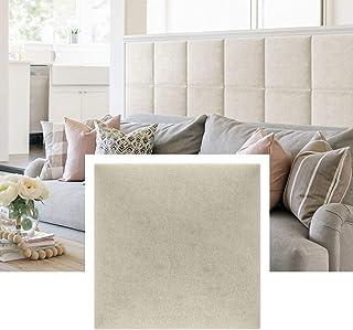 Isolbau Panel de pared decorativo, cojín de pared, cabecero de cama, textil 3D, acolchado decorativo moderno, cabecero acolchado para dormitorio, cabecero para cama cuadrado 30 x 30 M03