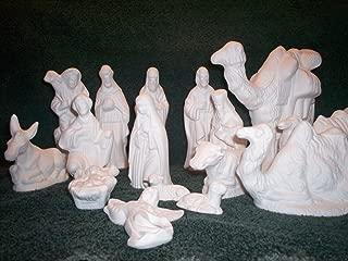 Ceramic Bisque Nativity to Paint