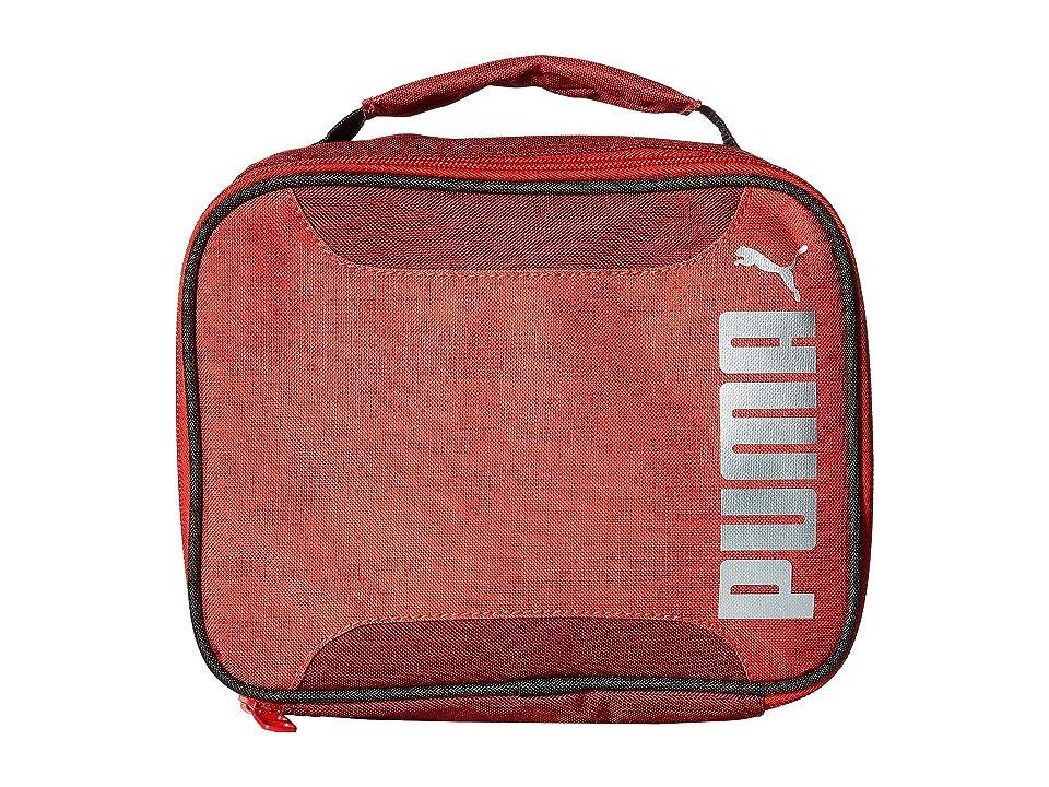PUMA Evercat Contender 2.0 Lunch Box (Little Kids/Big Kids) (Red/Black) Bags