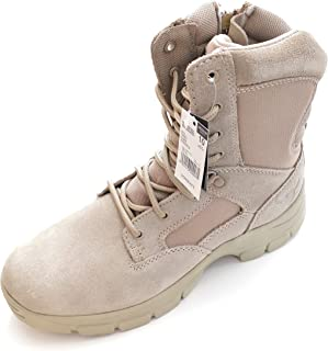 Texas Steer Mens Kamaal 2 Tan Work Boot Sand Combat Tactical Military Army Shoes
