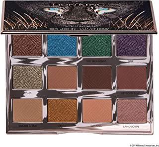 Sir John X Luminess Air Disney's The Lion King Cannot Wait to Be Queen Eyeshadow Palette, Rose Gold, Satin, 0.684 Oz