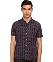 Marc by Marc Jacobs - Electric Ikat Short Sleeve Shirt