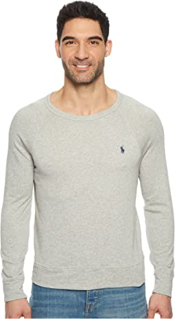 Spa Terry Long Sleeve Knit Sweatshirt