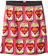 Dolce & Gabbana Kids - Charmeuse Love Skirt (Big Kids)