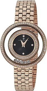 Christian Van Sant Women's Gracieuse Quartz Watch with Stainless-Steel Strap, Rose Gold, 14 (Model: CV4833)