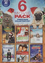 6 Movie Pack ~ Christmas Collector's Set Volume Six: Miracle at Christmas: Ebbie's Story, Santa and Pete, Winslow the Christmas Bear, On the Second Day of Christmas, Scroooge & A Holiday to Remember w/ BONUS 20 Holiday Songs