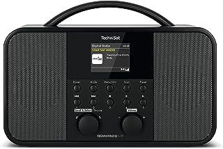 TechniSat TECHNIRADIO 5 IR - Stereo DAB+ internetradio (DAB, FM, AUX, 2,4 inch dimbaar kleurendisplay, WLAN, slaaptimer, w...