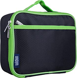 Wildkin Kids Insulated Lunch Box Bag for Men and Women, Ideal Size for Packing Hot or Cold Snacks for Work & Travel, Measu...