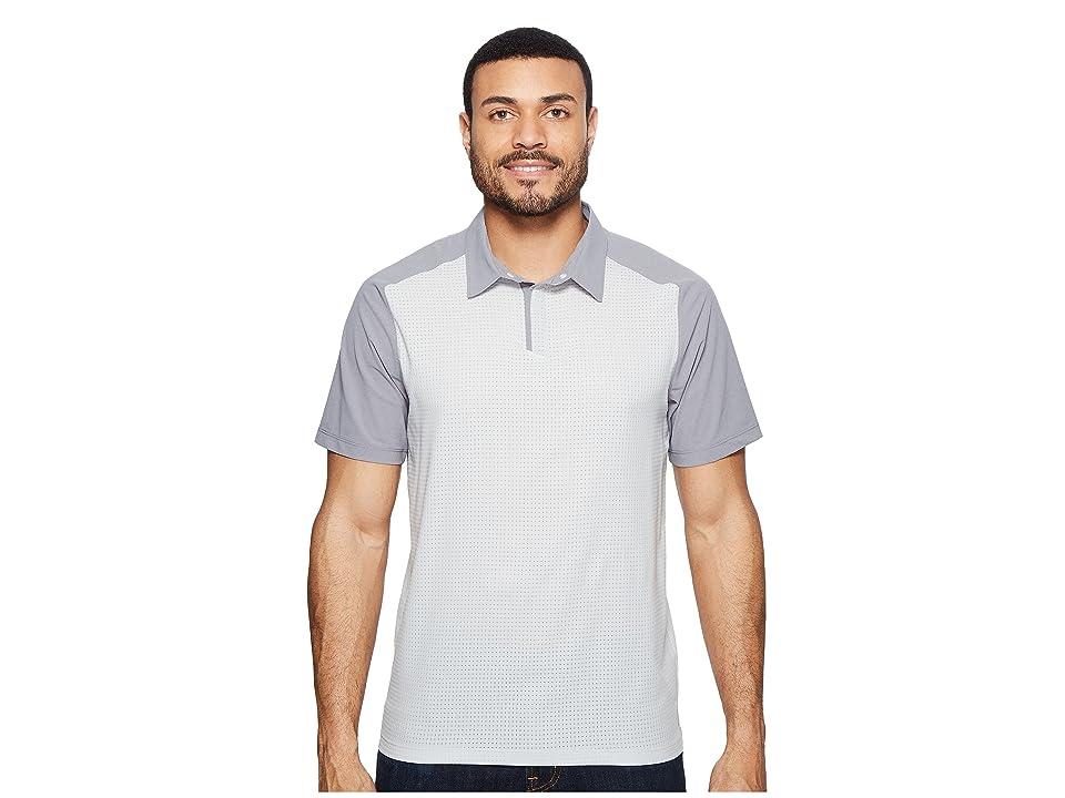 Mountain Hardwear MHW AC Short Sleeve Polo (Grey Ice) Men