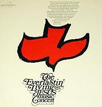 THE EVERLASTIN LIVING JESUS MUSIC CONCERT LP original 1971 Christian folk THE WAY Gentle Faith Near Mint