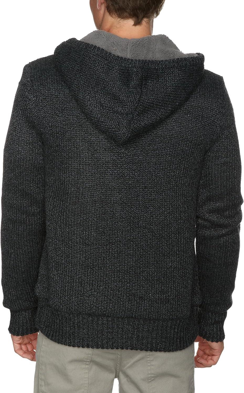Quiksilver Cerigatis Sweat-Shirt pour Homme Noir