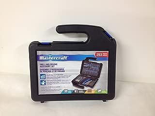 Mastercraft 253-pc Drill and Screwdriver Bit Set