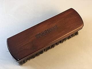 [3glad] 馬毛ブラシ 100%天然馬毛 靴磨きブラシ シューズブラシ レザーケア 革製品のお手入れ等