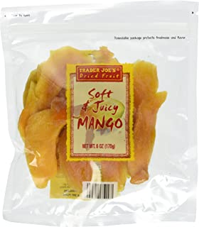 4 Packs Trader Joes Dried Fruit Soft & Juicy Mango