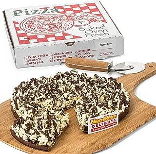 Gourmet Chocolate Gift Box   Gluten Free Dessert Chocolate Lovers Popcorn Pizza   Kosher Certified - By NomNom Delights