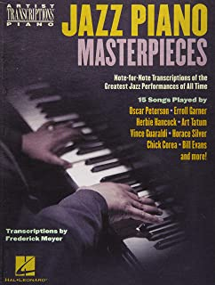 Jazz Piano Masterpieces - Note-for-Note Transcriptions of th