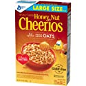 Honey Nut Cheerios, Gluten Free, Cereal with Oats, 15.4 oz