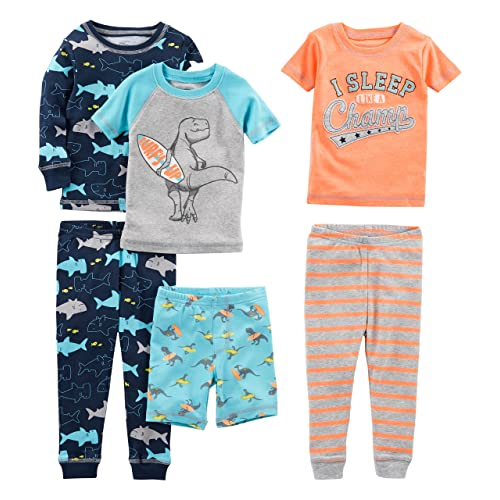 cbdfdc9735be Simple Joys by Carter's Baby, Little Kid, and Toddler Boys' 6-Piece