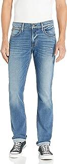 بنطلون جينز رجالي Byron مستقيم الساق بسحاب من Hudson جينز