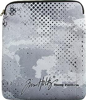 Tonic Studios Tim Holtz-Funda con Cremallera para Plataforma, no aplicable, Multicolor, 32 x 26.67 x 2.0299999999999998 cm