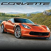 Corvette Wall Calendar (2017)