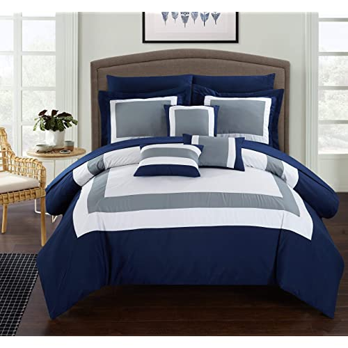 Navy Blue Bedding Amazoncom