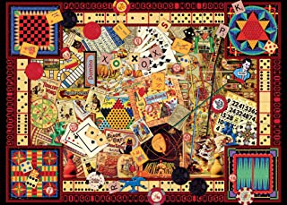 Ravensburger Vintage Games 1000 Piece Jigsaw Puzzle for Adults – Every piece is unique, Softclick technology Means Pieces Fit Together Perfectly