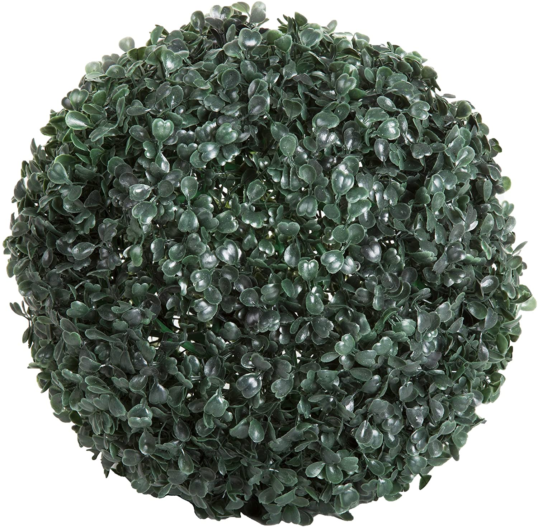 shop Pure Garden 50-128 Solar Powered Topiary Ball-Dec Ranking TOP16 Artificial LED
