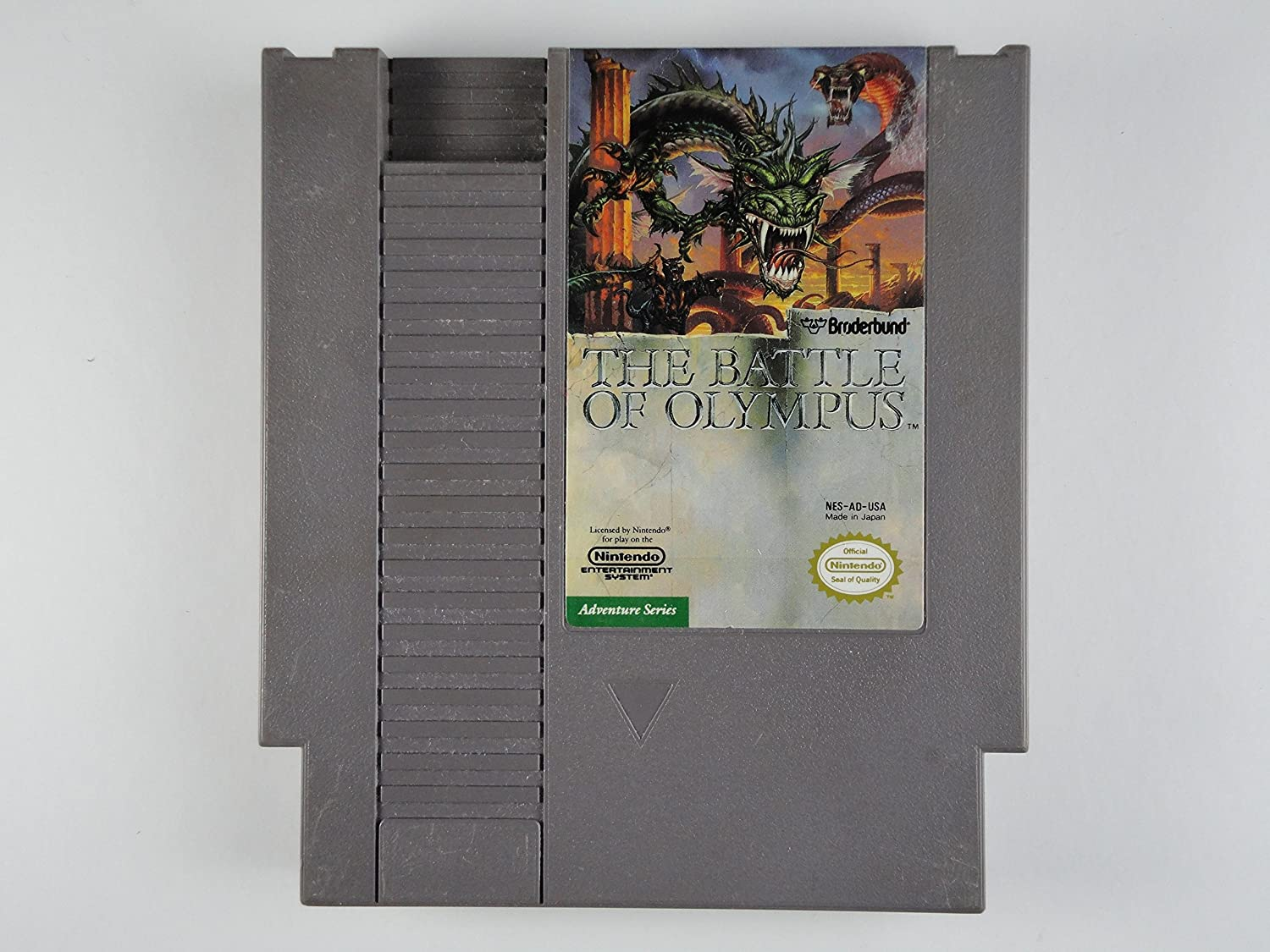 Battle of excellence Olympus The- Game the NES Cartridge Nintendo for Industry No. 1