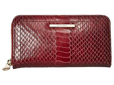 Brahmin Rosehip Suri Wallet (Cranberry) Wallet Handbags