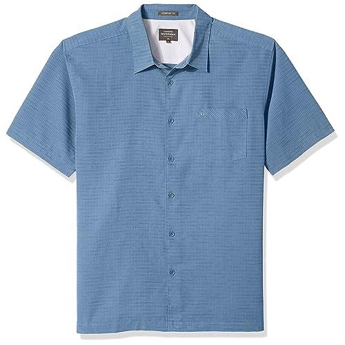 d06063aaf52e03 Quiksilver Men's Centinela 4 Button Down Shirt