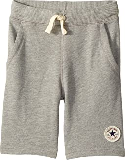converse chuck patch fleece shorts
