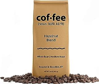 Hazelnut Blend Whole Bean Coffee, Medium Roast, 1-Pound Bag
