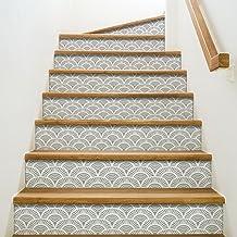 OKKOPE 197096 sticker voor trappen, vinyl, grijs, 100 x 0,1 x 19 cm