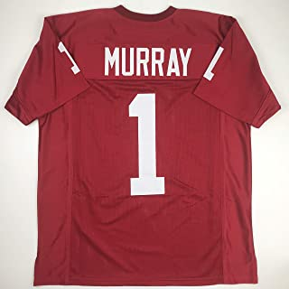 Unsigned Kyler Murray Oklahoma Maroon College Custom Stitched Football Jersey Size Men's XL New No Brands/Logos
